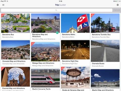 Trip Guider Spain-ipad-1