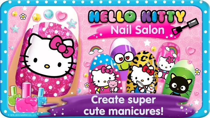Hello Kitty Nail Salon Screenshot