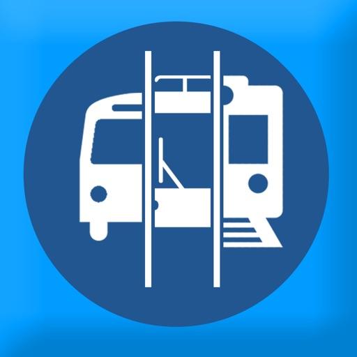 Toronto Travel - Trains, Buses and Bikes icon