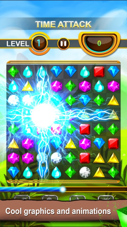 Jewels Quest - Classic Match-3 Puzzle Game screenshot-3
