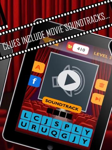 Movie Trivia Quiz: Guess pop movie stars, actors, actresses.  New fun puzzles!-ipad-1