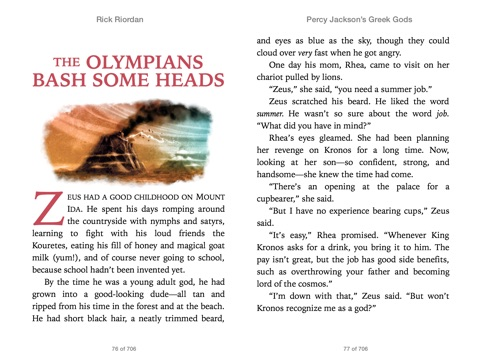 Percy Jackson's Greek Gods by Rick Riordan on Apple Books