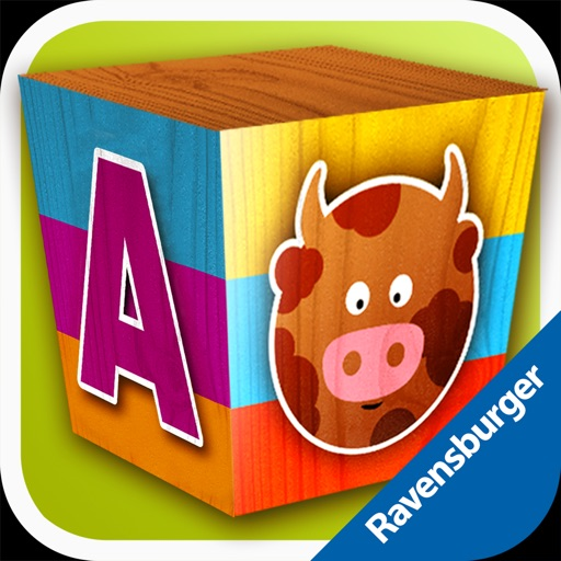 Puzzle Blocks for Kids: Animals and Letters