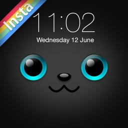 iFaceMaker Lite ( Cute animal themes ) : for Lock screen, Call screen, Contacts profile photo, instagram