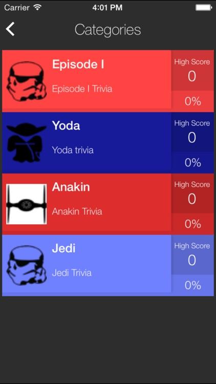 Ultimate Trivia for Star Wars - Fun Jedi Quiz Game