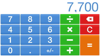 Big Digits HD Calculator with Large Buttons | App Price Drops