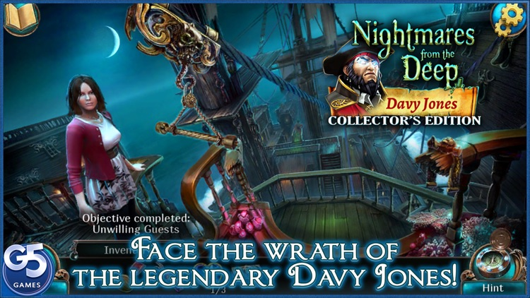 Nightmares from the Deep™: Davy Jones, Collector's Edition screenshot-0