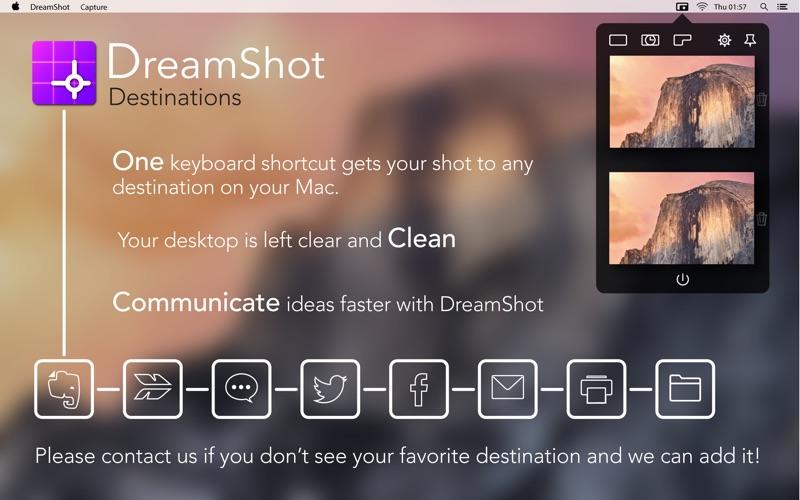 DreamShot:截图快捷键