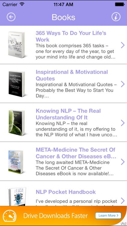 Transformational Self-Development Hypnosis Audio & Books screenshot-3