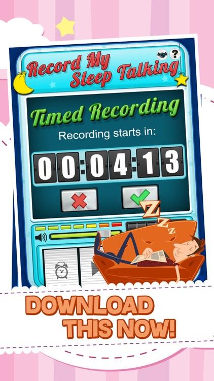 Record My Sleep Talking