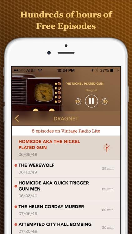 Vintage Radio Lite screenshot-3