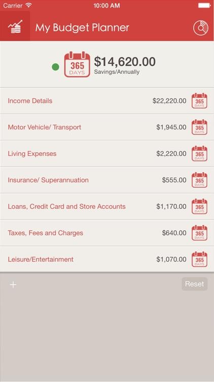 My Budget Planner screenshot-0