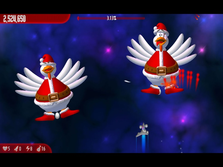 Chicken Invaders 3 Xmas HD
