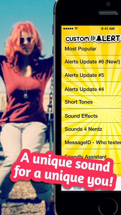Custom Alert Sounds - Download or create your own new tones and alerts screenshot-4
