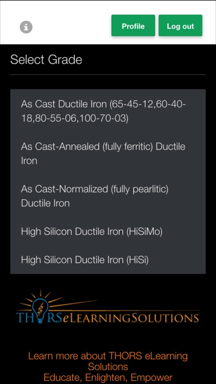 Ductile Iron Strength Calculator