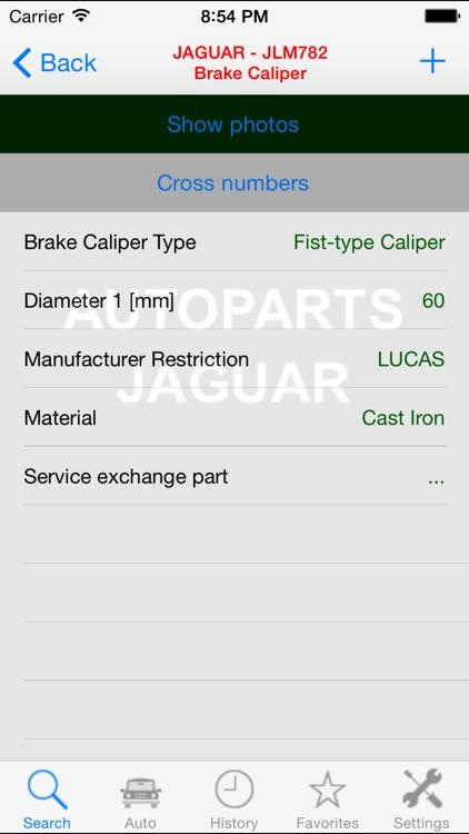 Autoparts for Jaguar screenshot-4