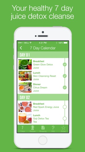 7 Day Juice Detox Cleanse on the App Store