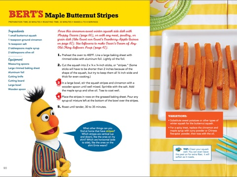 Sesame Street Lets Cook By Workshop On IBooks