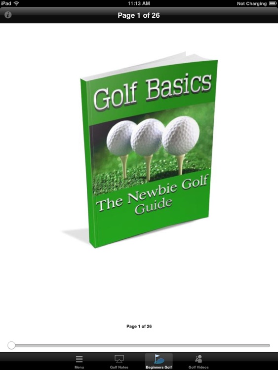 Beginners Guide to Golf:Learn Golf Basics