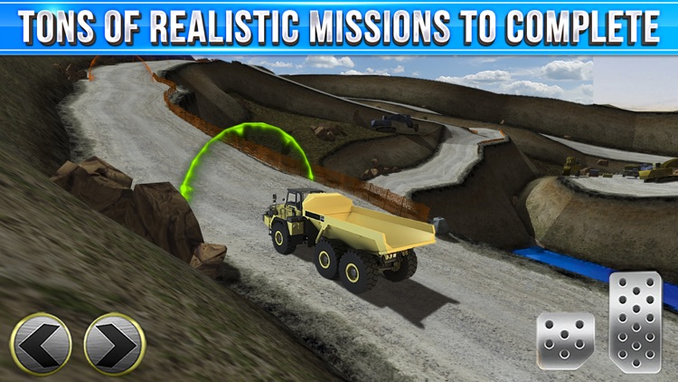 Quarry Driver Parking Game - Real Mining Monster Truck Car Driving Test Park Sim Racing Games screenshot-3