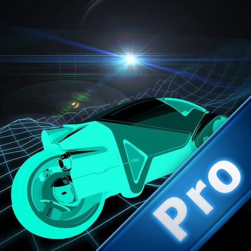 Neon Lights Race Pro : Electronic Moto Chase War