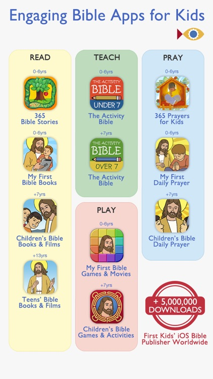 First Communion Bible – Stories, Comic Books & Movies to prepare the Holy Eucharist with your Kids, Christian Family and School screenshot-4