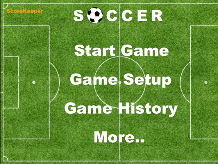 ScoreKeeper Soccer HD screenshot-0