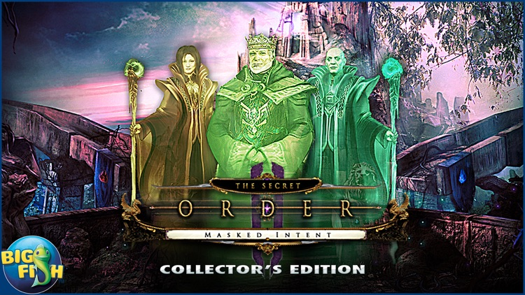 The Secret Order: Masked Intent - A Hidden Objects Adventure screenshot-4