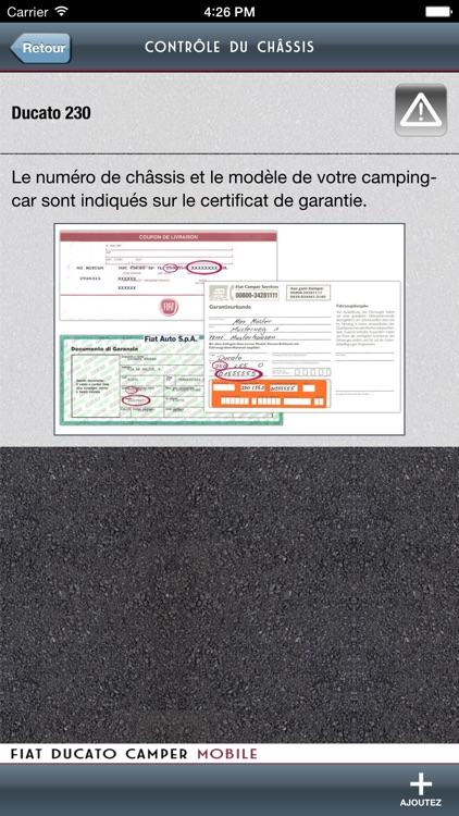 Fiat Ducato Camper Mobile screenshot-3
