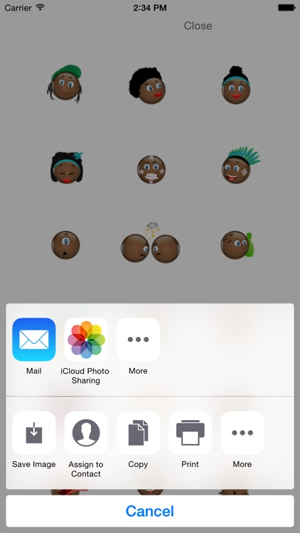 Black Emojis screenshot-2