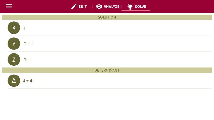 xSolve - Advanced Equation Solver screenshot-3
