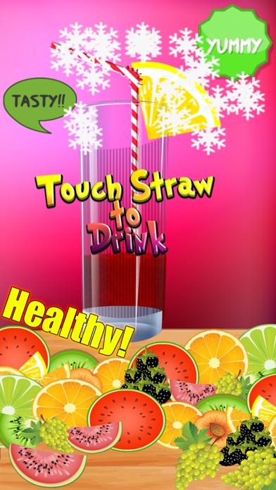 Healthy Juice Maker - Juicy Vegetable Smoothie with Orange, Apple, Carrot, Straw-Berry & Cream-y Fruitのおすすめ画像4