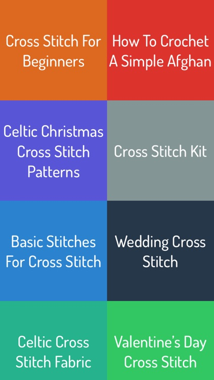Cross Stitching Patterns