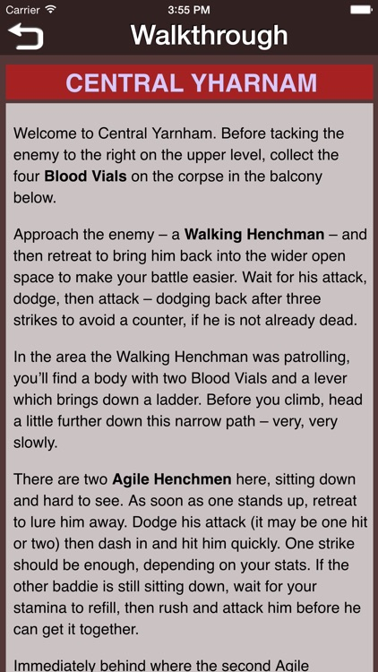Gamer's Guide for Bloodborne