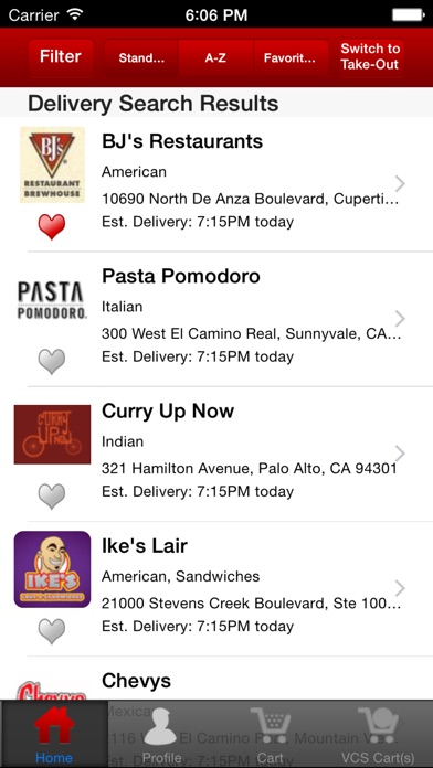 Waitercom Food Delivery And Takeout review screenshots