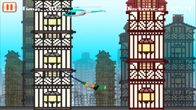 Mine Escape - Use The Craft Rope 'N Fly Away screenshot three