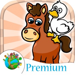 Farm animals - fun mini games for kids - Premium