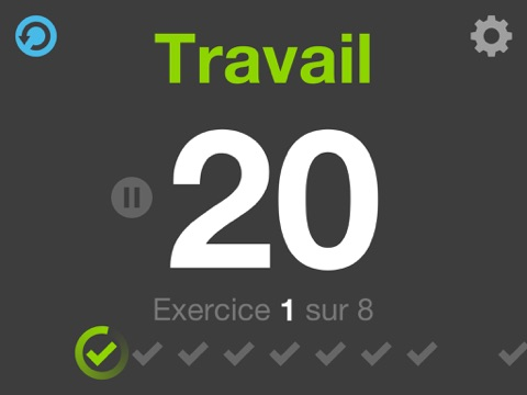 Screenshot #5 pour Fitness Intervals