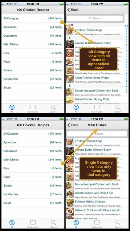 400 Chicken Recipes screenshot-4