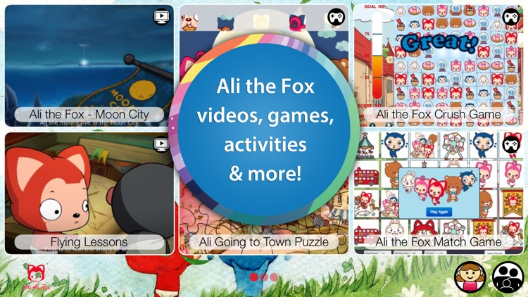 Ali the Fox for Kids- Activities, Games and Dream Like Adventures