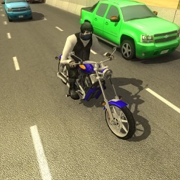 Biker Dude Road Riders : A Motorcycle Racing Game