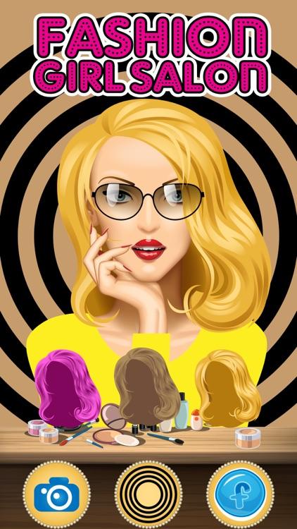Fashion Girl Salon -Beauty Salon, Dress Up,Make Up & Hair Salon Makeover game screenshot-3