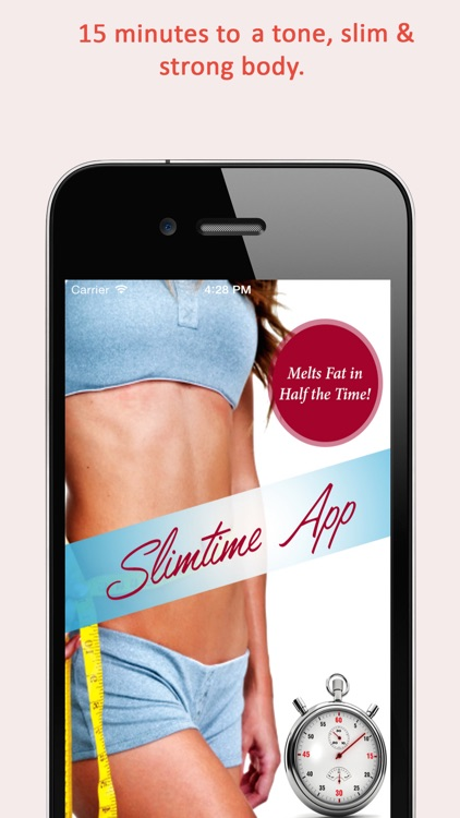 Fit Girl Slim Time 15 minute workouts : Fitness Trainer Workouts to melt fat in 1/2 the time screenshot-0
