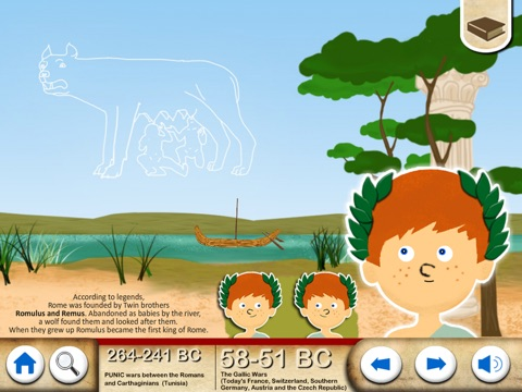 Ancient Rome For Kids screenshot three