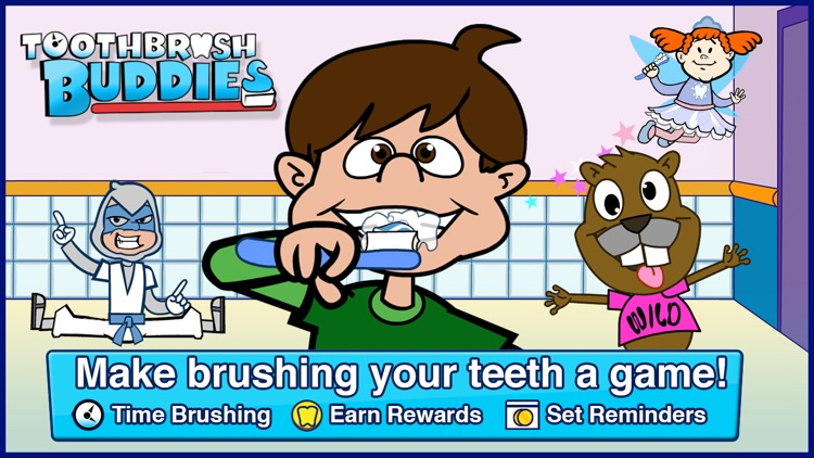 Toothbrush Buddies - Timer, Tracker and Floss Guide