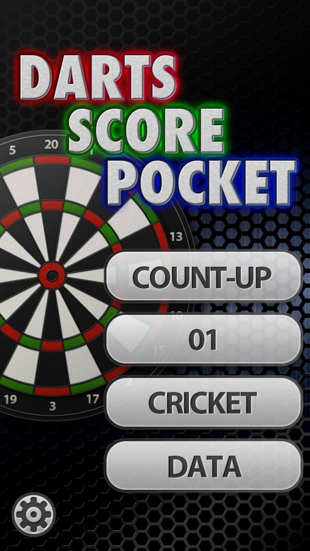 Darts Score Pocket - 窓用