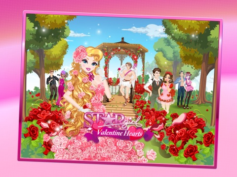 Star Girl: Valentine Hearts на iPad