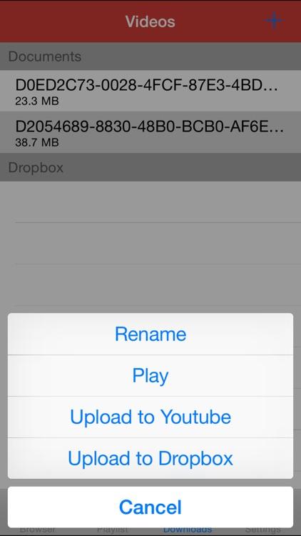 MyTV Tube Pro - Best Uploader, Player & Playlist for Youtube screenshot-3
