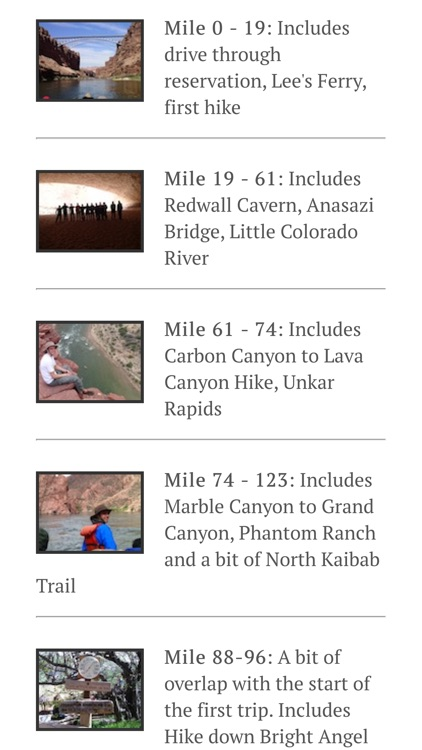Grand Canyon - Rafting and Hiking the Colorado River from Lee's Ferry to Whitmore Wash screenshot-4