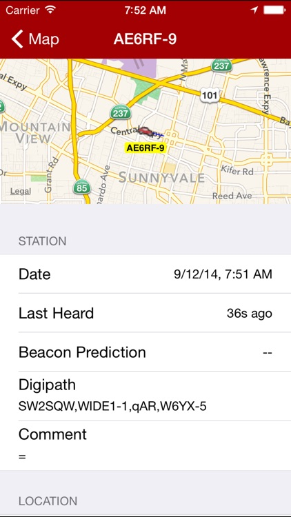 APRS Mobile screenshot-1
